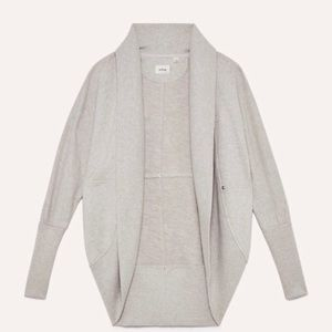 ARITZIA Diderot Sweater Cocoon Cardigan Grey S